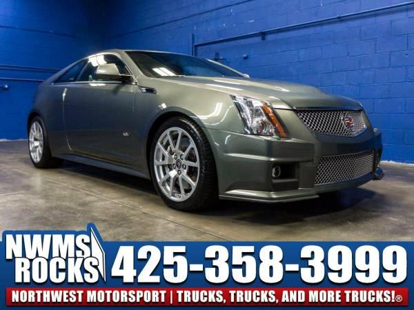 2011 *Cadillac CTS* V RWD - Driver Memory Seat! 2011 Cadillac CTS-V...