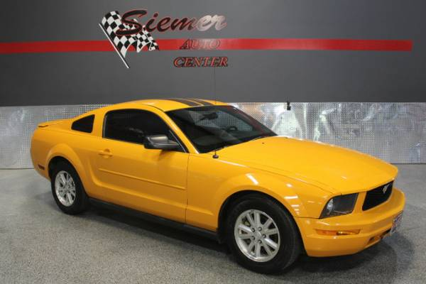 2007 Ford Mustang V6 DELUXE*SE HABLA ESPANOL, CALL TODAY