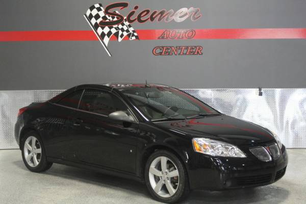 2008 Pontiac G6 GT CONVERTIBLE, BIG TIME DEALS, SMALL TOWN VALUES!*