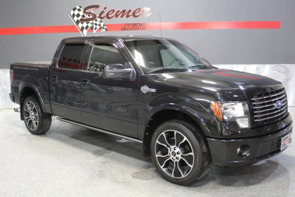 2012 Ford F150 HARLEY DAVIDSON*COME KICK THE TIRES AND TEST DRIVE!*