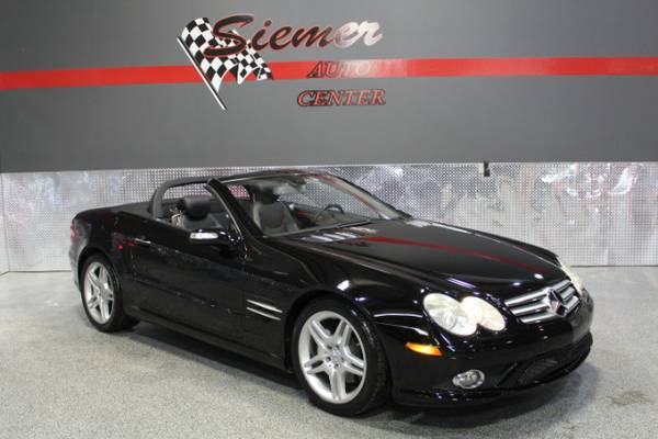 2008 Mercedes-Benz SL550 CONVERTIBLE*OWN THIS LOW MILE LUXURY CAR*