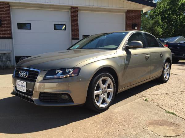 **Price Drop** 2009 Audi A4 AWD 2.0T quattro Premium 4dr Sedan 6M