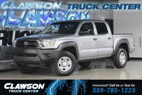 2014 Toyota Tacoma 2WD Double Cab V6 AT PreRunner (Nat Truck Tacoma...
