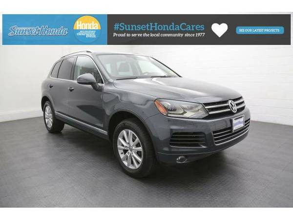 2013 *Volkswagen Touareg* VR6 FSI -Great Credit, Bad Credit, No...