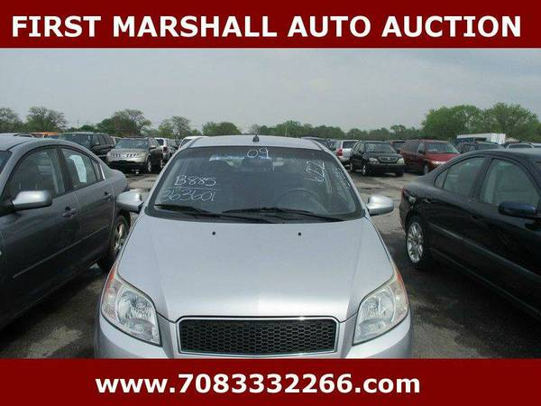 2009 Chevrolet Aveo LS - First Marshall Auto Auction