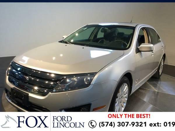 2010 *Ford Fusion* 4DR SDN HYBRID FWD - (SILVER) Hablamos espanol