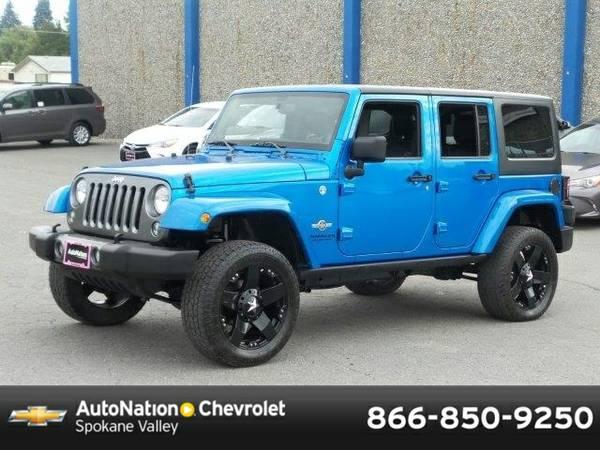 2014 Jeep Wrangler Unlimited Freedom Edition SKU:EL165510 Jeep Wrangle