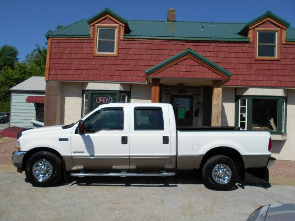 03 FORD SUPER DUTY F-250 XLT CREW CAB/DIESEL/MANY UPGRADES!!! CALL