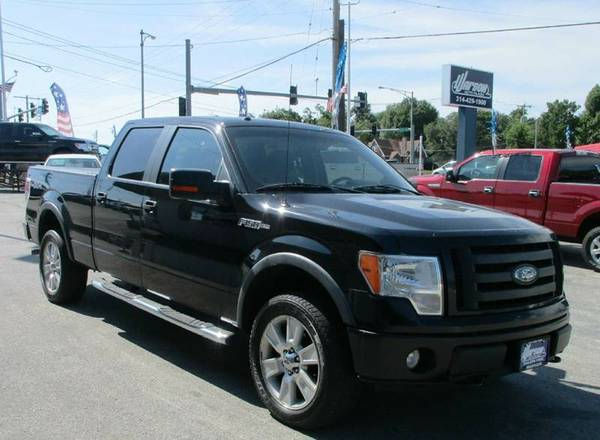 2009 Ford F150 FX4 Super Crew - 92k MILES! 1 OWNER - BLACK - MUST SEE!