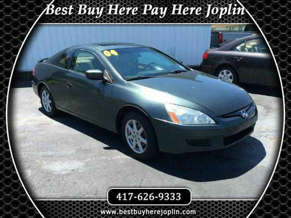 2004 *Honda* *Accord* EX V-6 Coupe AT with XM Radio