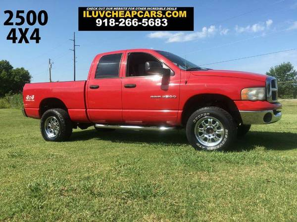 SUPER DEAL!! 2005 DODGE RAM 2500 CREW CAB 4X4 WITH A HEMI!!