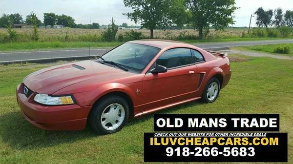 2001 FORD MUSTANG - 5 SPEED MANUAL FOR CHEAP!!