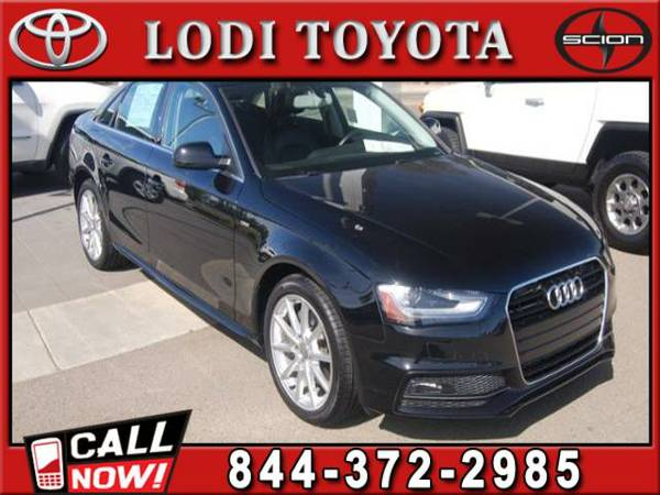 2014 AUDI A4 2.0T PREMIUM PLUS Very Nice, ONLY 25,287 Miles!