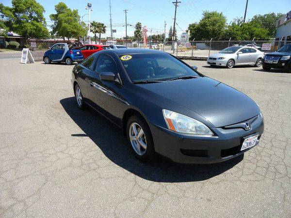 2005 *Honda* *Accord* EX w/Leather 2dr Coupe w/Leather
