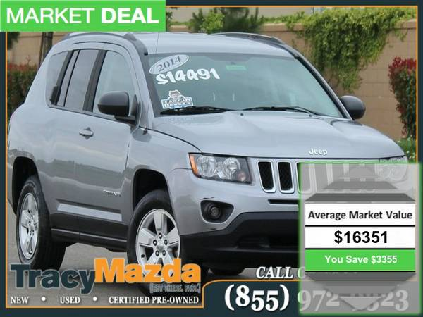 2014 *Jeep Compass* 4D Sport Utility Very clean condtion!
