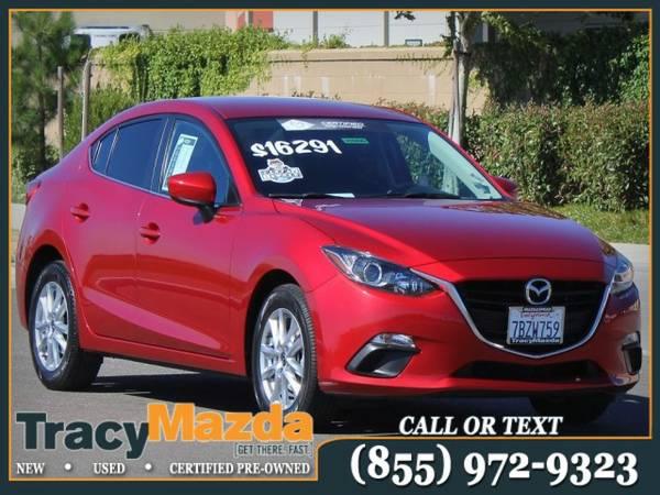 2014 Mazda Mazda3 4D Sedan *Mazda Certified and one owner!