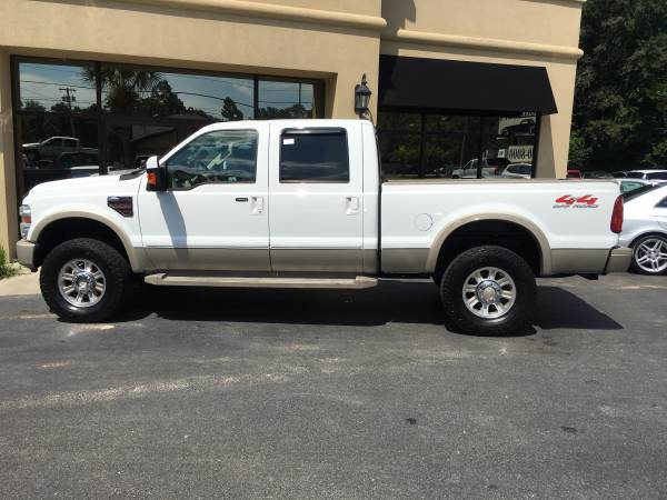 2008 FORD F-350 SUPERCREW 4X4 KING RANCH PACKAGE TURBO DIESEL