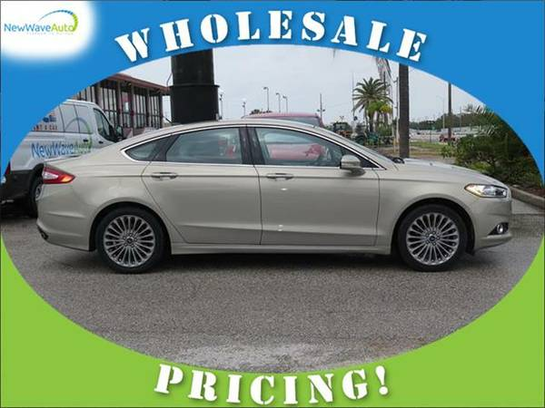 2015 *FORD FUSION* 4dr Sdn Titanium FWD - WHOLESALE PRICES!