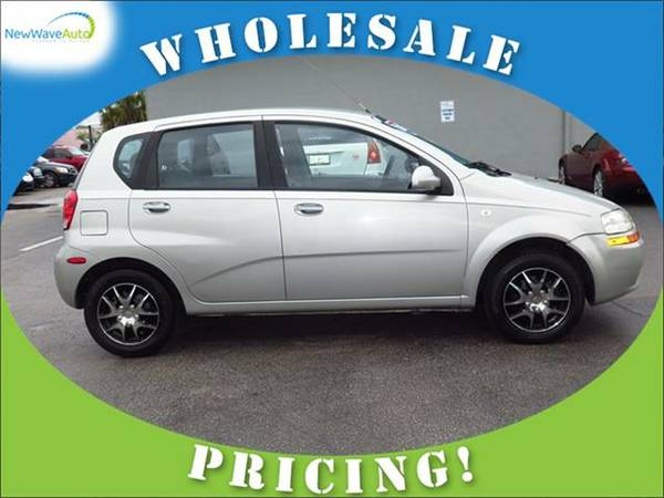 2005 *CHEVROLET AVEO* 5dr HB LS - WHOLESALE PRICES!