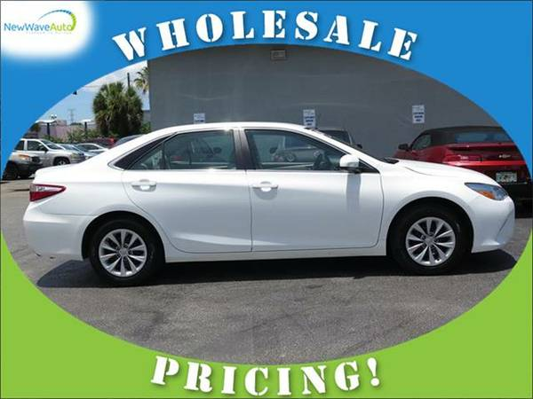 2015 *TOYOTA CAMRY* 4dr Sdn I4 Auto LE - WHOLESALE PRICES!