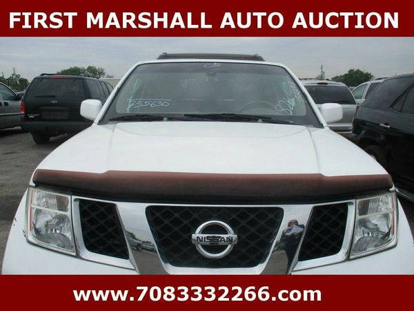 2005 Nissan Pathfinder LE 4WD 4dr SUV - First Marshall Auto Auction