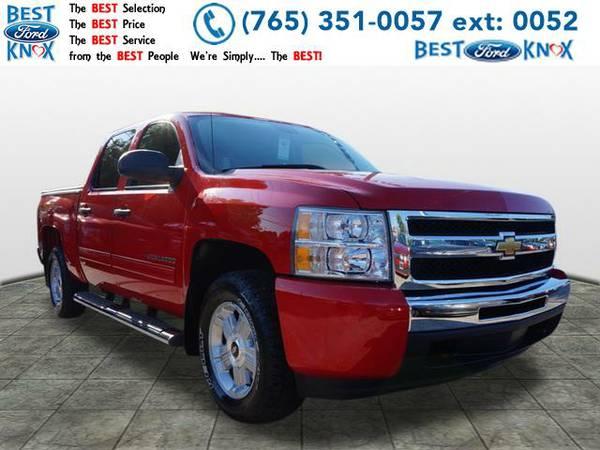 2010 *Chevrolet Silverado 1500* LT (Red)