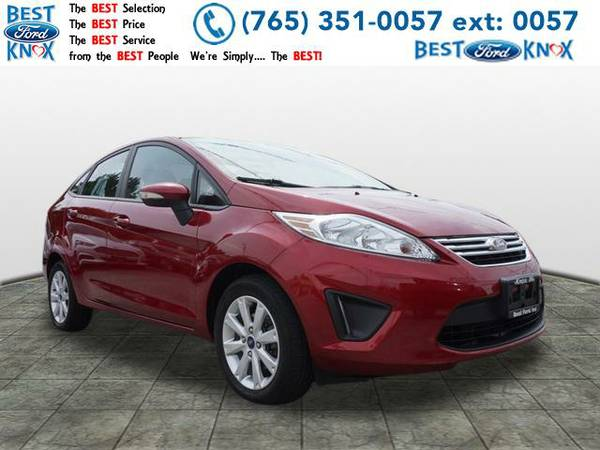 2013 *Ford Fiesta* SE (Red)