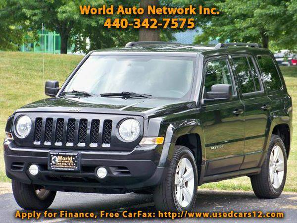 2011 *Jeep* *Patriot* 4WD. 1-Owner vehicle. FULLY LOADED. WELL...