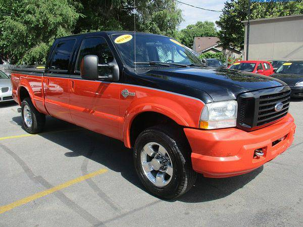 2004 *Ford* *F250* *4WD* Crew Cab Harley Davidson *$499 Down Drives...