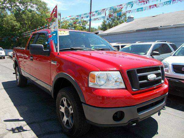 2007 *Ford* *F150* *4WD* Supercab FX4 6 1/2 *$499 Down Drives Today!*