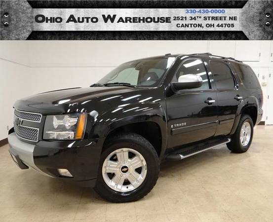 2008 *Chevrolet* *Tahoe* Z71 4x4 Sunroof 3rd Row Cln Carfax We...