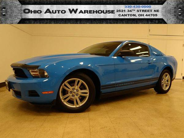 2010 *Ford* *Mustang* Coupe Clean Carfax We Finance -🔥WE...