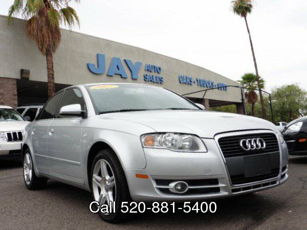 2007 Audi A4 2007 4dr Sdn AUTO 2.0T FrontTrak /CLEAN CARFAX/ FULLY...
