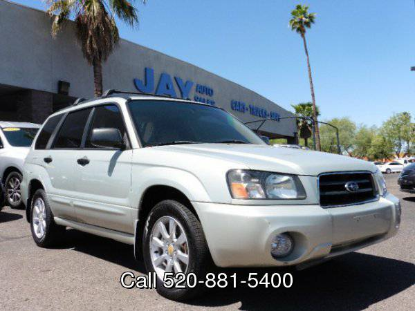 2005 Subaru Forester 4dr 2.5 XS Auto / CLEAN CARFAX / BEST SELECTION...