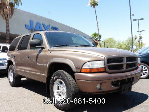 2000 Dodge Durango 4dr 4X4 SLT /CLEAN CARFAX/ /3RD ROW SEATS/ LEATHER