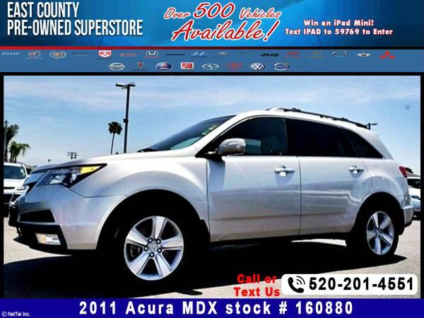 2011 Acura MDX Tech Pkg Stock #160880