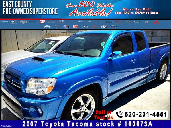 2007 Toyota Tacoma X-Runner Stock #160673A