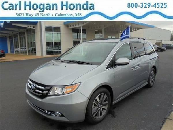 2016 *Honda Odyssey* 4d Wagon Touring Elite - LUNAR SILVER