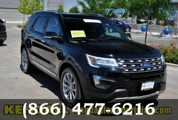 2016 Ford Explorer Shadow Black ***BEST DEAL ONLINE***