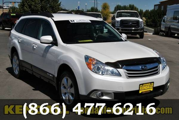 2012 Subaru Outback Satin White Pearl ON SPECIAL - Great deal!