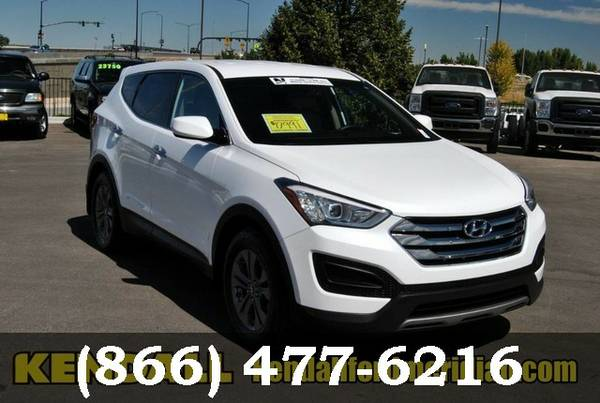 2013 Hyundai Santa Fe Frost White Pearl *WHAT A DEAL!!*