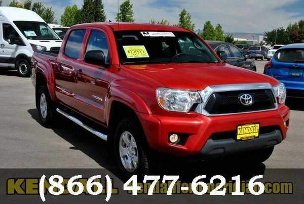 2015 Toyota Tacoma RED Call Now..Priced to go!