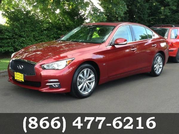 2015 Infiniti Q50 Venetian Ruby Great Price! *CALL US*
