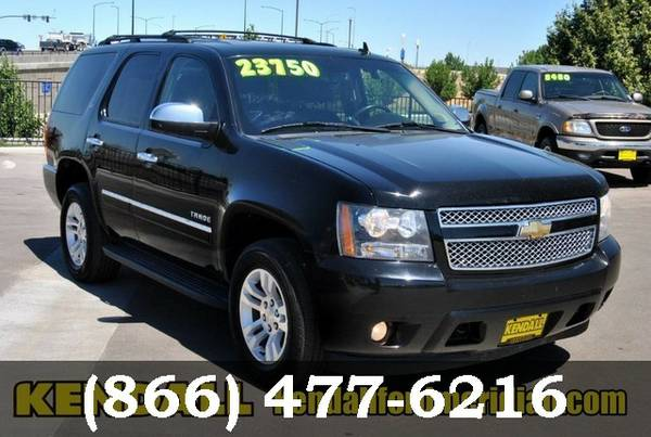 2010 Chevrolet Tahoe Black Granite Metallic For Sale NOW!