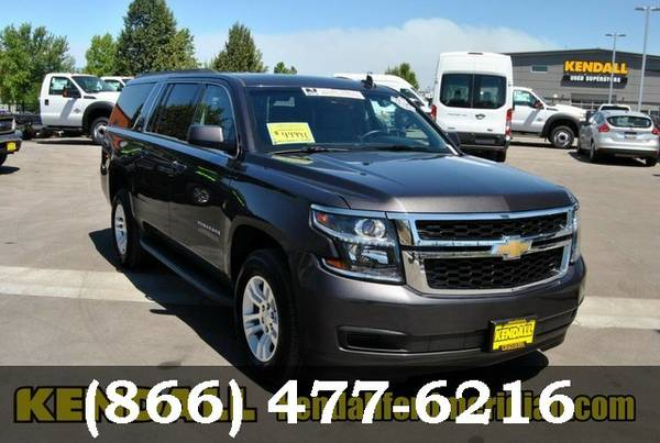 2015 Chevrolet Suburban Tungsten Metallic Low Price..WOW!
