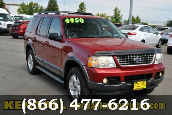 2005 Ford Explorer RED Call Today**BIG SAVINGS**