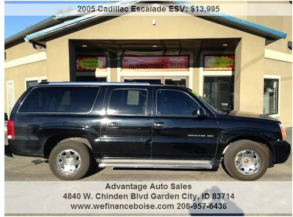 ►2005 Cadillac Escalade ESV Platinum~Worth the Drive~We Finance