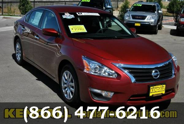 2015 Nissan Altima BRIGHT RED GO FOR A TEST DRIVE!