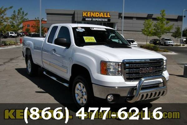 2013 GMC Sierra 2500HD WHITE For Sale *GREAT PRICE!*