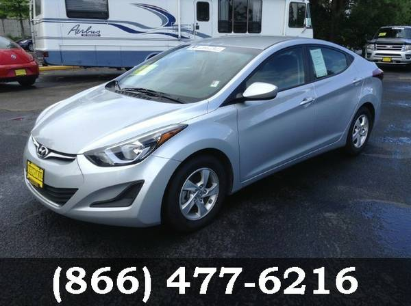 2014 Hyundai Elantra Radiant Silver Buy Today....SAVE NOW!!